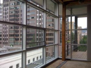 SW view from top floor